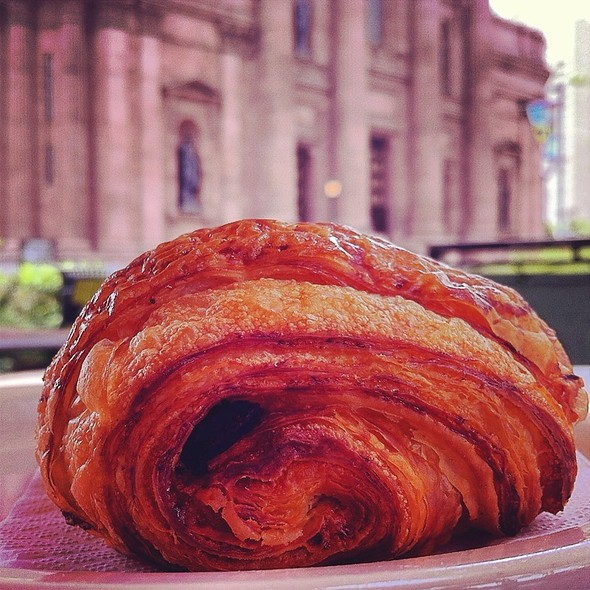 Chocolate Croissant @ Milk & Honey Cafe
