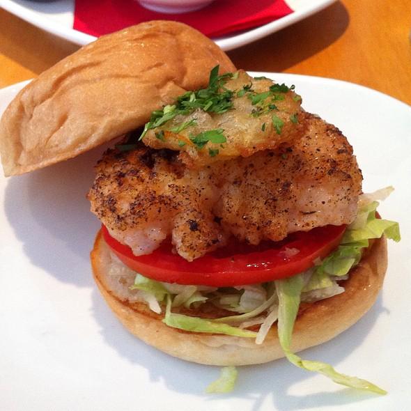 Shrimp Burger @ Flip Burger Boutique