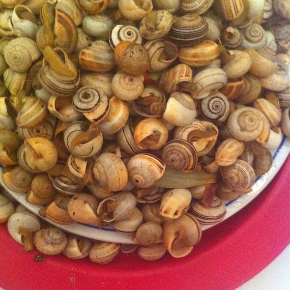 Caracóis cozidos @ Festival Caracol Saloio