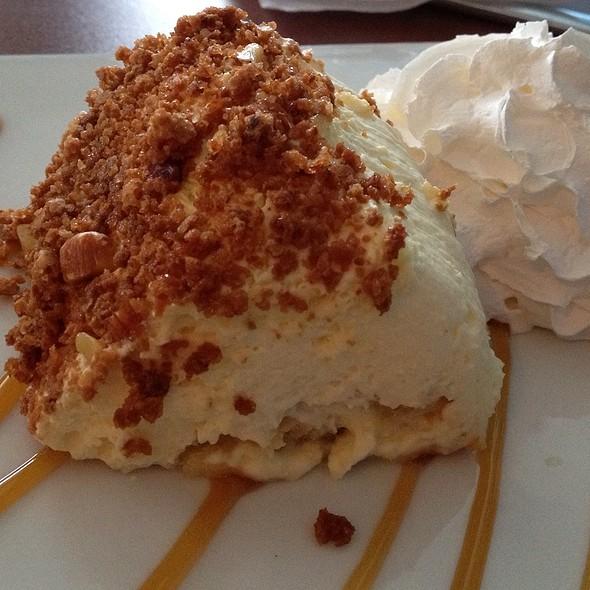 Almond Tiramisu - Xtra's Cafe, Richmond, VA