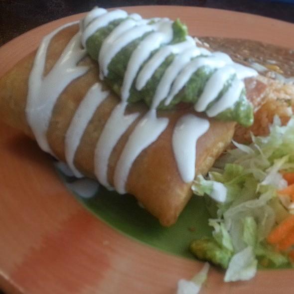 Beef Chimichanga. @ Baja Cactus