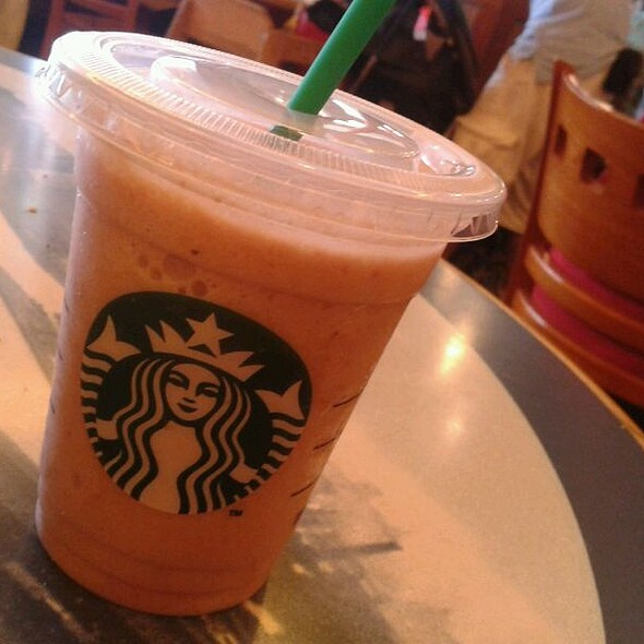 Strawberries And Cream Frappuccino @ Starbucks