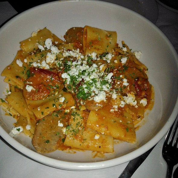 Rigatoni With Spicy Italian Sausage - Francesca's on Chestnut, Chicago, IL