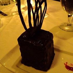 Triple Chocolate Cake - Purple Parrot Seafood and Steaks, Hattiesburg, MS