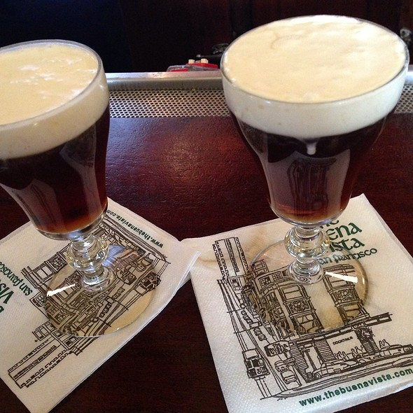 Irish Coffee @ Buena Vista Cafe