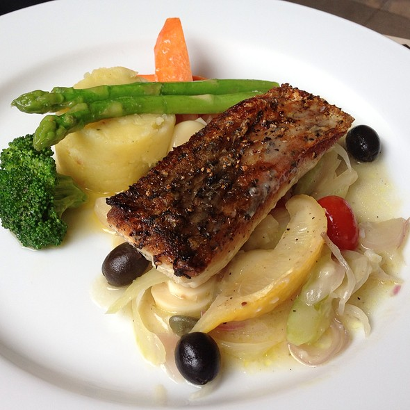Grilled Sea Bass @ Bar Italia By Gie Gie @ CDC