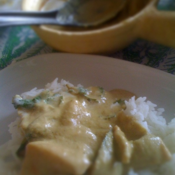 Green Chicken Curry @ Cafe Malaca