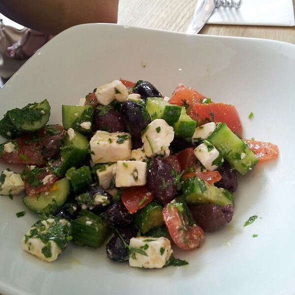 Greek Salad @ Royal Quarters Café