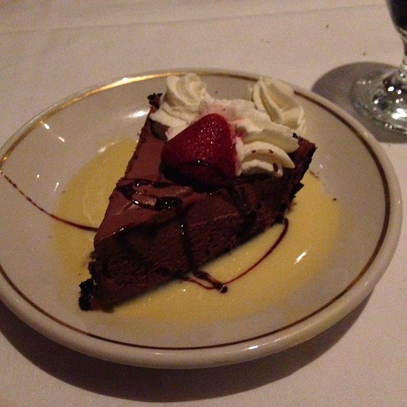 Chocolate Mousse Pie - The Prime Rib - Baltimore (The Original), Baltimore, MD
