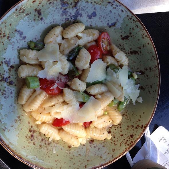 Gnocchi With Garden Vegetables @ De Young Cafe