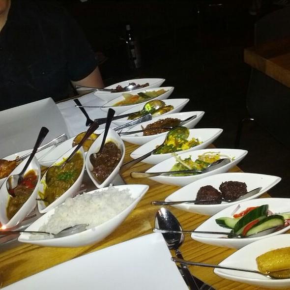 Indonesian Rice Table @ Restaurant Blauw Utrecht B.V.