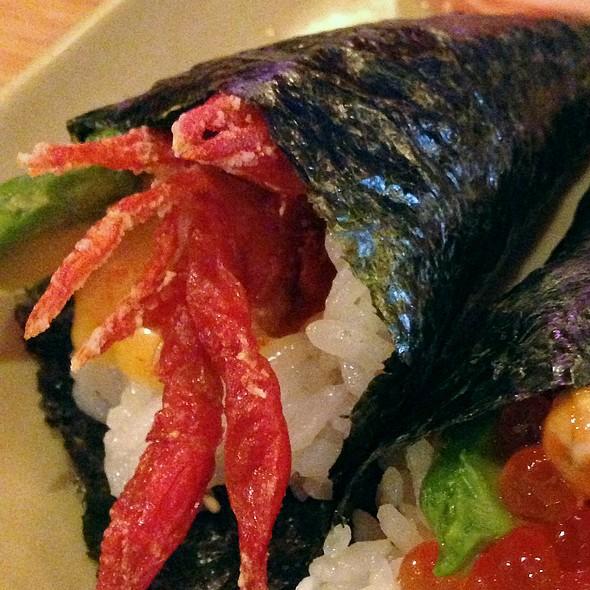 Soft Shell Crawfish Hand Roll