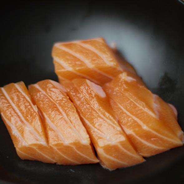 Salmon Sashimi @ Nijiya Market