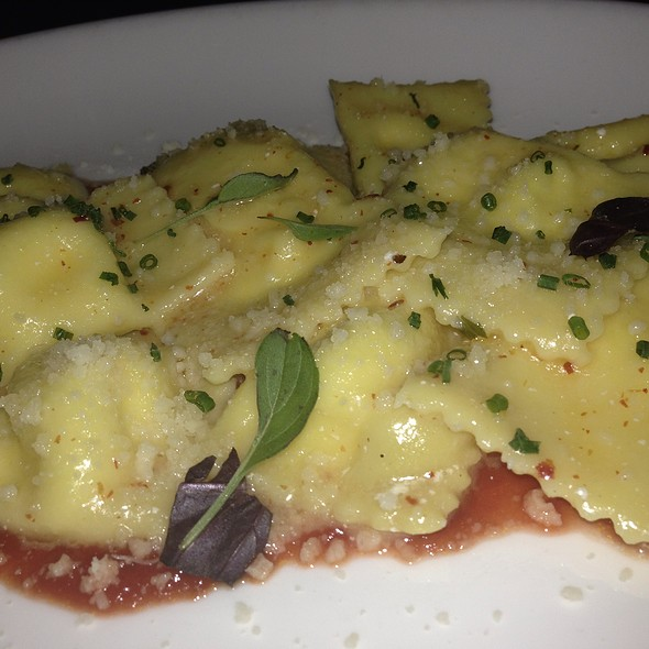 Smoked Ricotta Ravioli @ The Dutch