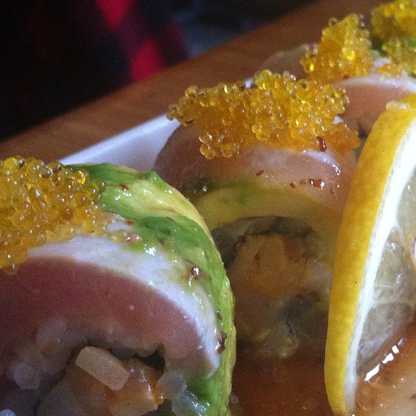 Golden State Roll @ Tataki Sushi and Sake Bar