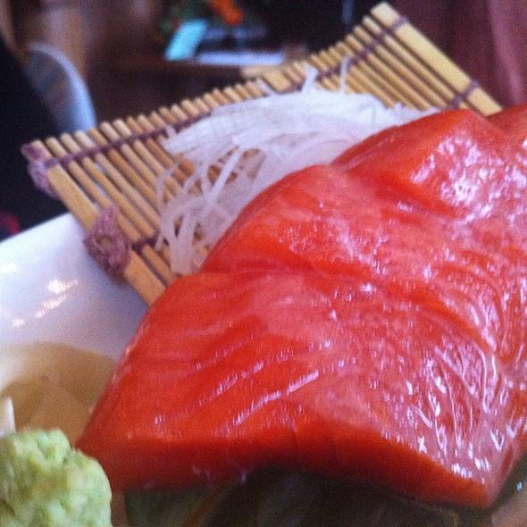 Wild Alaskan Salmon Sashimi @ Tataki Sushi and Sake Bar