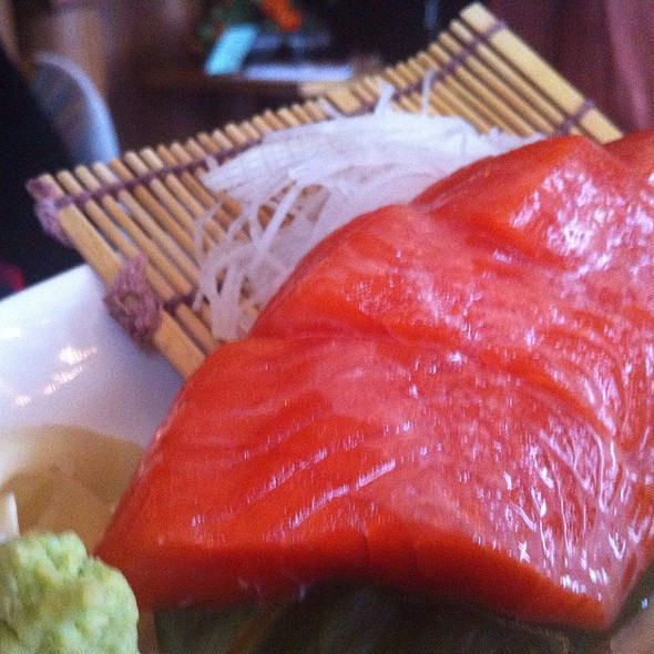 Wild Alaskan Salmon Sashimi @ Tataki Sushi and Sake Bar