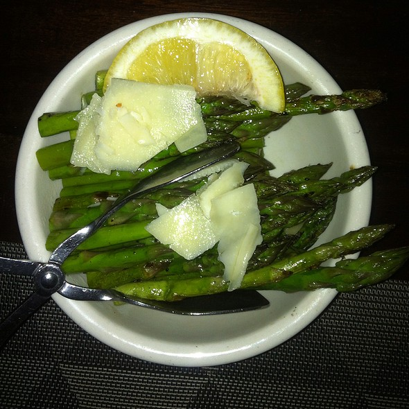 Wood Grilled Asparagus - Mill's Tavern, Providence, RI