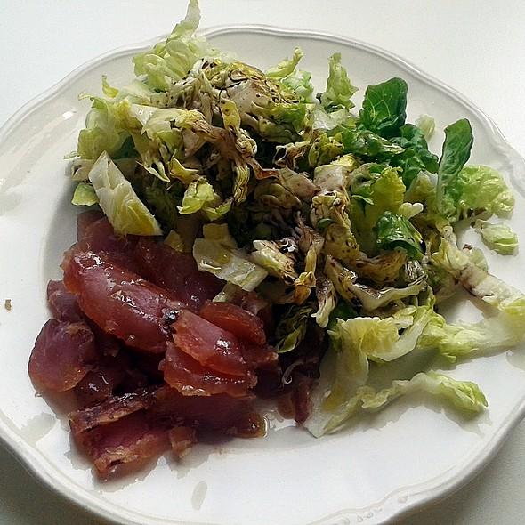 Marinated bonito salad @ Churchilita solita