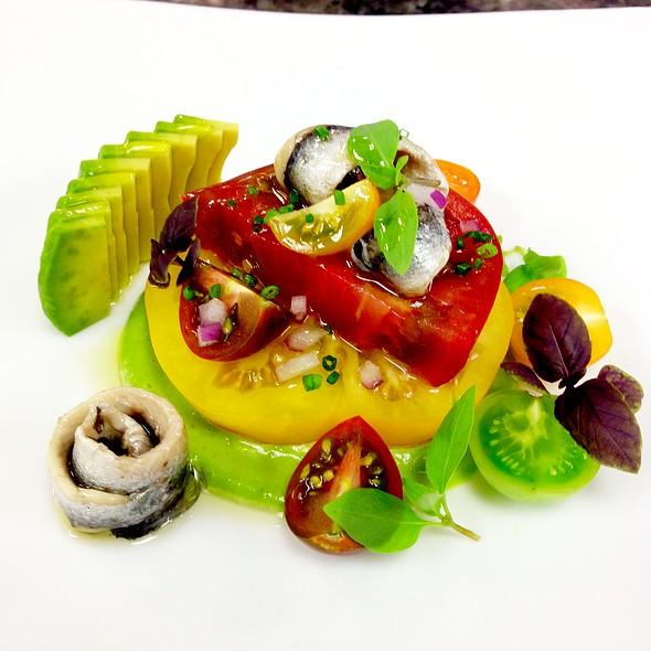 Heirloom Tomato Salad @ Wolfgang Puck at Hotel Bel-Air