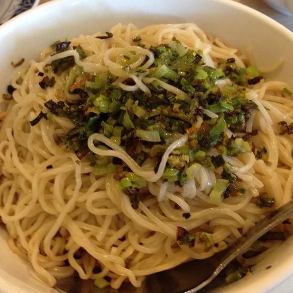 Green Onion Noodles @ Mei Long Village