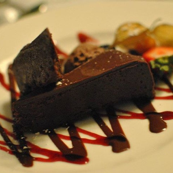 Flourless Chocolate Torte - Mile High Steak & Seafood, Glen Mills