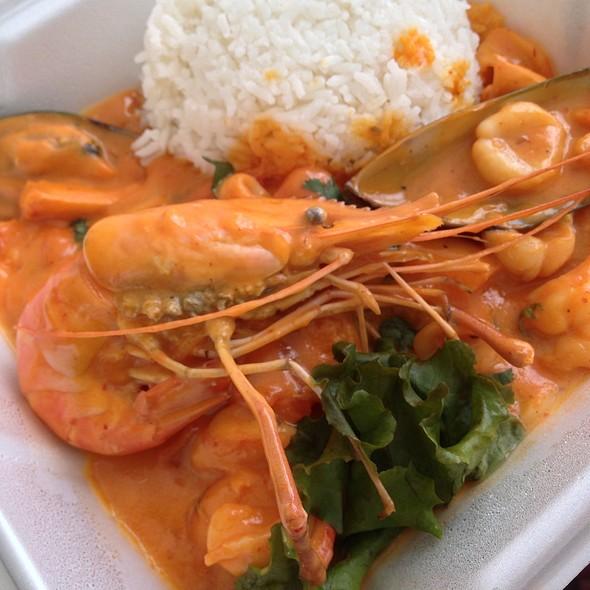 Picante de mariscos @ Intiraymi Restaurants Peruvian