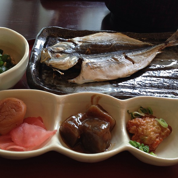 Traditional Japanese Breakfast @ Ichinoyu