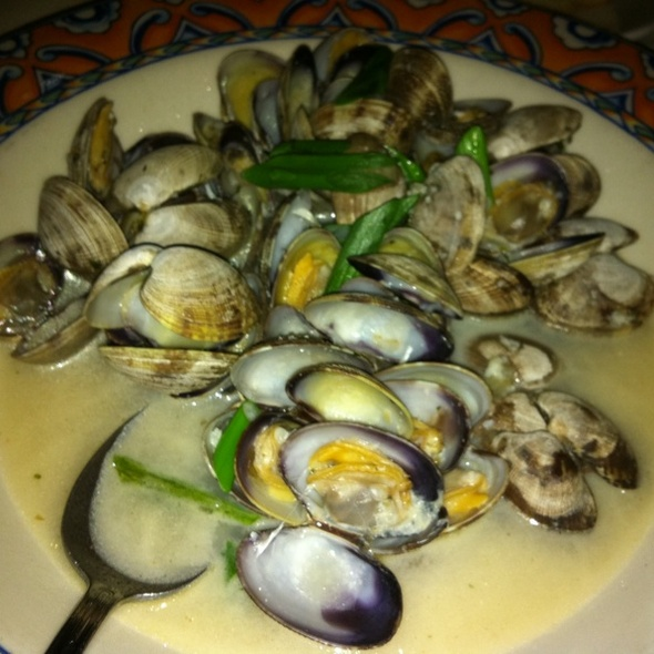 Manila Clams - Ponti Seafood Grill, Seattle, WA