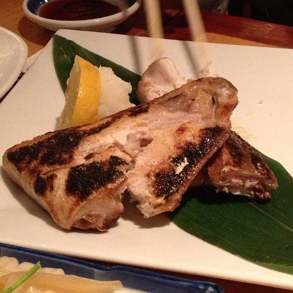 Broiled Yellowtail Collar @ Takahachi Restaurant