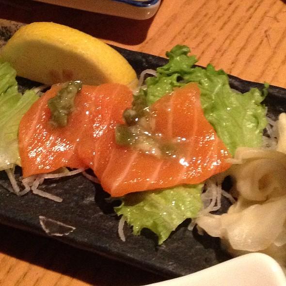 Salmon Sashimi @ Takahachi Restaurant