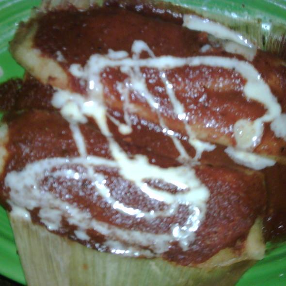 tamales @ Rosalita's Cantina
