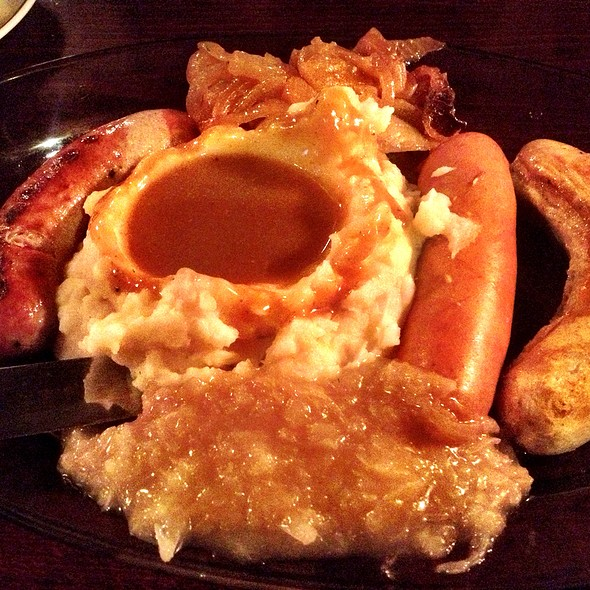 Wurst Platter @ Helmers Restaurant