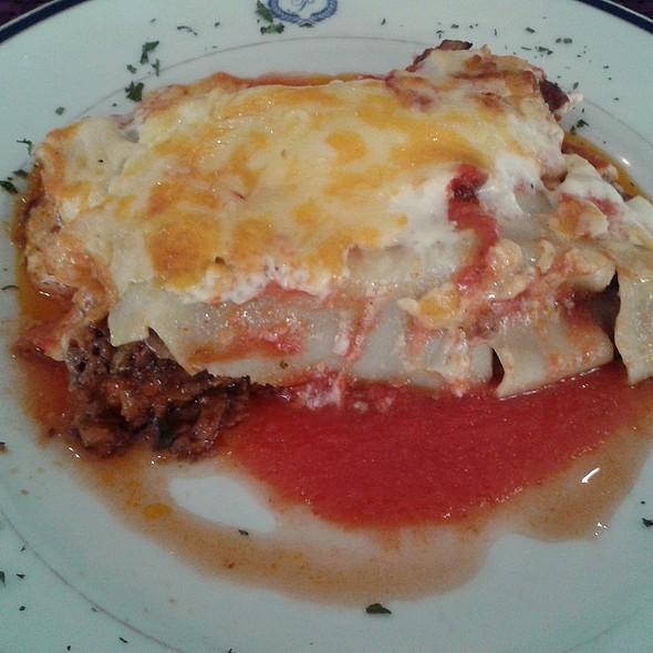 Beef Lasagna @ Café del Príncipe