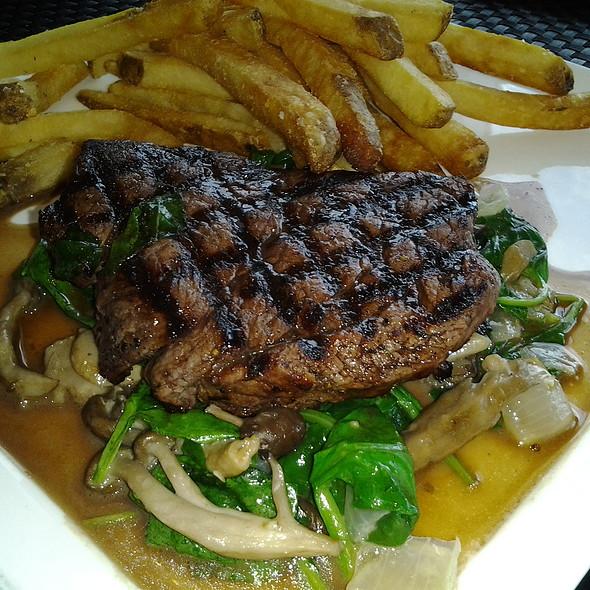 Grilled Beef Tenderloin with Sautéed Spinach & Mushrooms - 3800 Ocean, Singer Island, FL