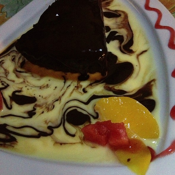 Pastel De Chocolate @ La Tieta