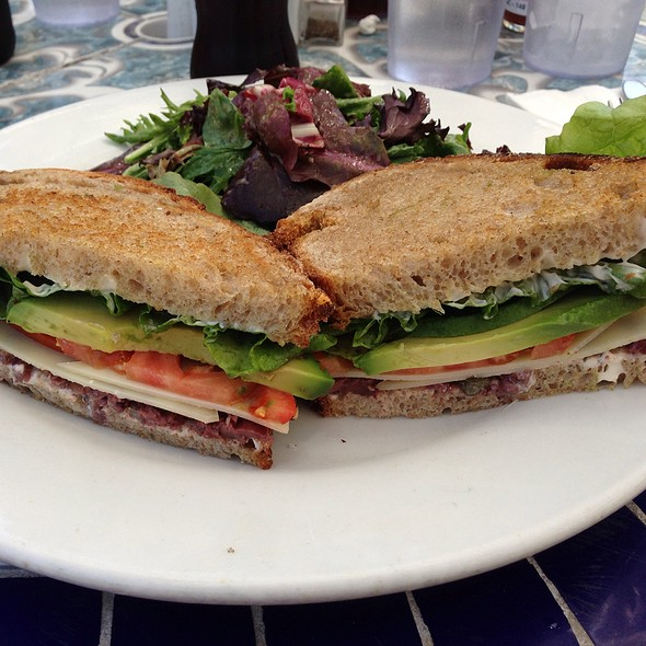 Guyere And Avocado Sandwich - The Park Restaurant, Los Angeles, CA