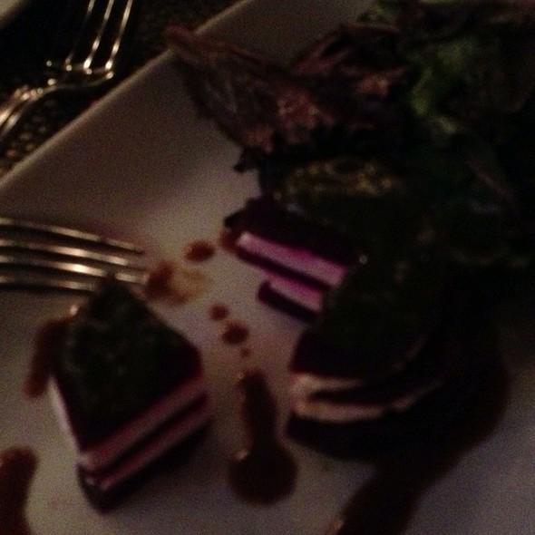 Beet And Chevre Salad - Bistrot Lepic & Wine Bar, Washington, DC