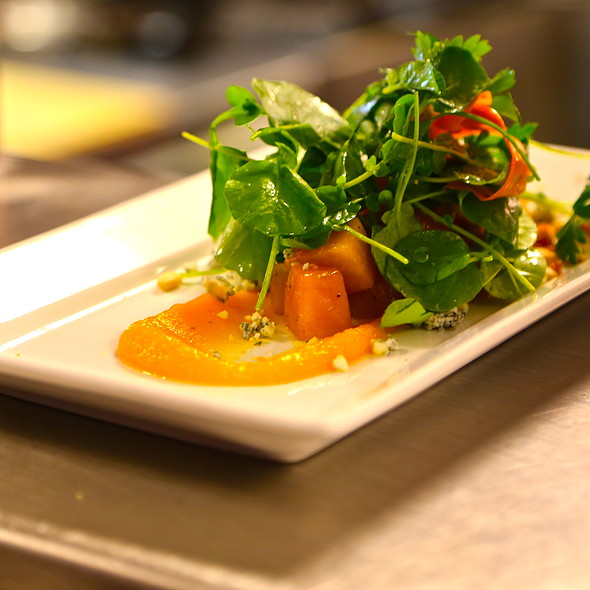 Roasted Golden Beet Salad @ Charcoal Restaurant