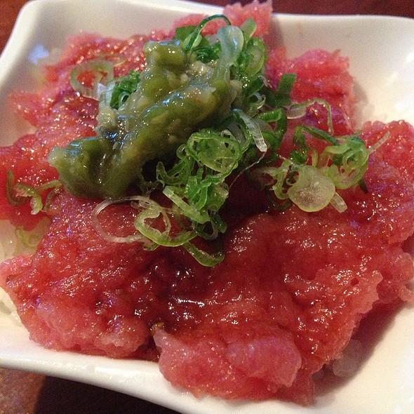 Omakase - Toro On Rice - Taka Sushi, Atlanta, GA