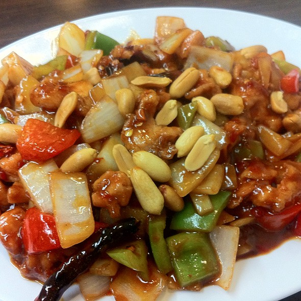 Kung Pao Chicken @ Wok In Cafe
