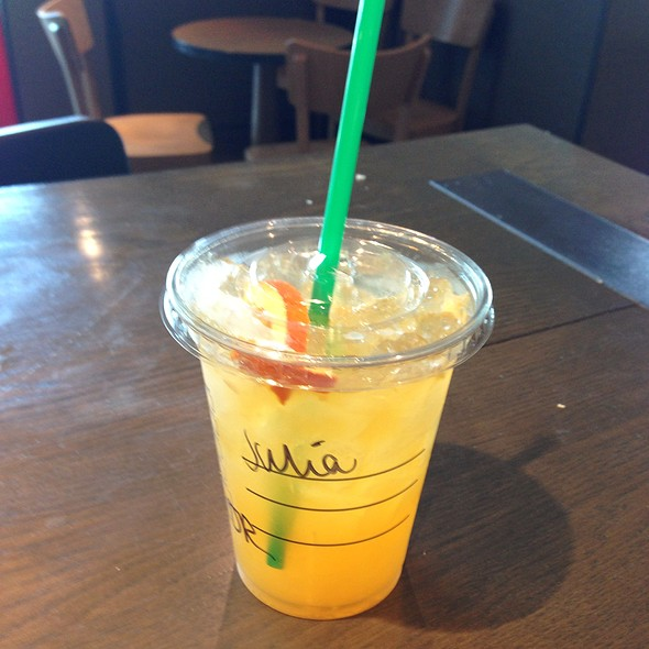 Valencia Orange @ Starbucks Cobham Service Station