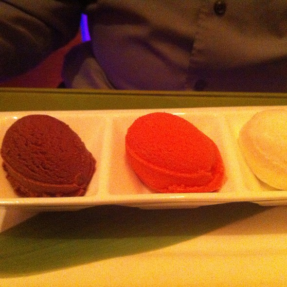 Sorbet Trio @ Morimoto Restaurant