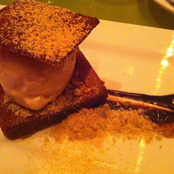 Mary Jane Brownie @ Morimoto Restaurant