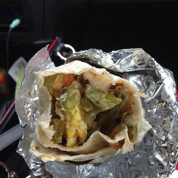 Cactus Burrito @ Tacos Villa Corona