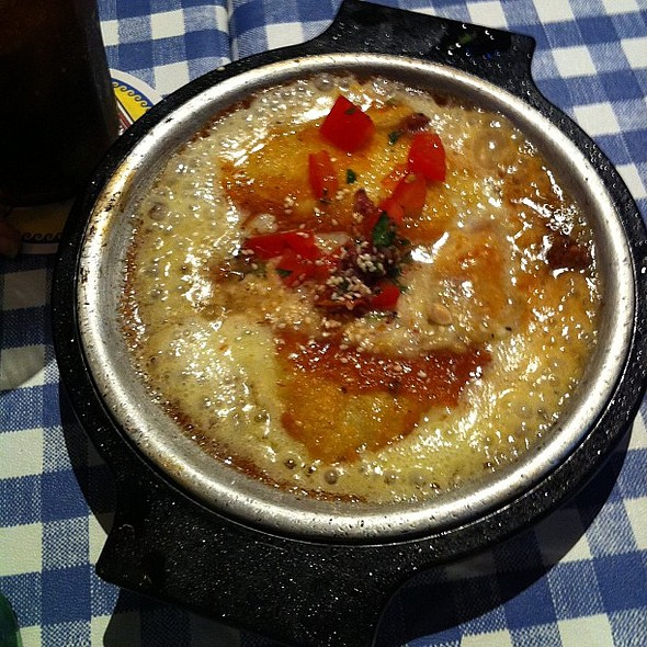Saganaki. , , , @ Yia Yia Mary's Greek Kitchen