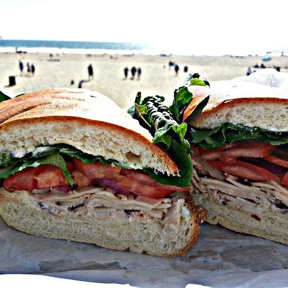 The Jerk Sandwich @ The Moose Deli & Brew