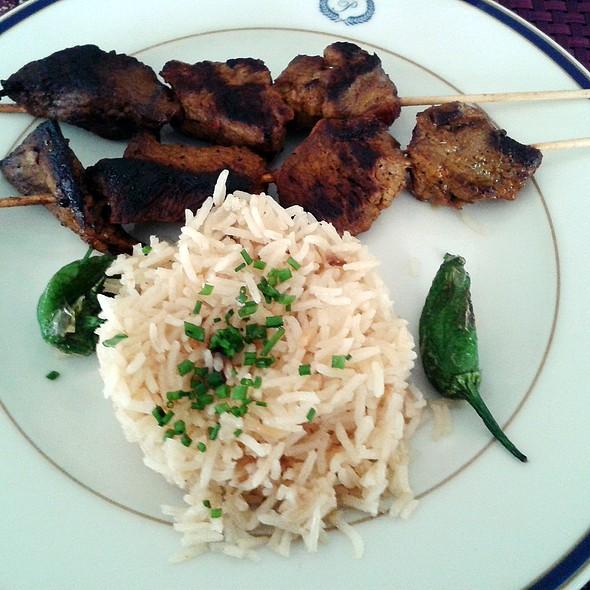 Beef Skewers @ Café del Príncipe