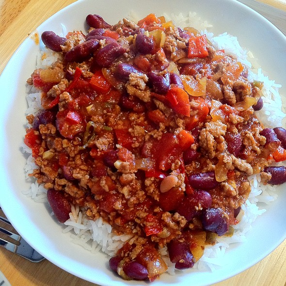 Chile con carne @ Louise's Lovely Larder