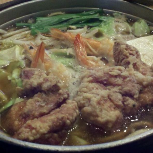 Manchenko Ramen With Fried Chicken @ Menchanko-Tei Restaurant